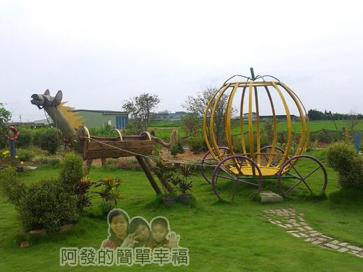 南瓜王國(旺山休閒農場)36南瓜大草原-南瓜馬車