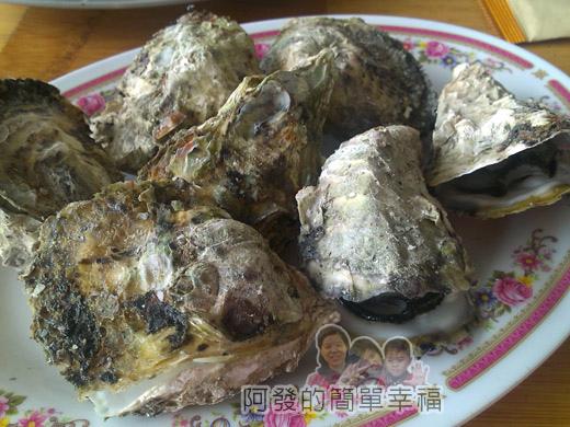 壯圍-嘉澎碳烤22澎湖牡蠣