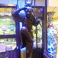 鶯歌-鶯歌老街08-老街陶館-齊天大聖木雕