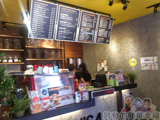 板橋-路易莎咖啡03櫃檯