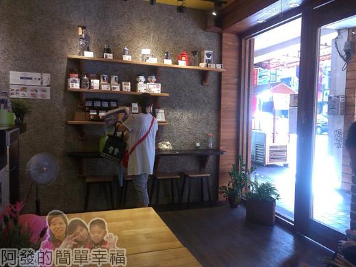 板橋-路易莎咖啡04店內環境