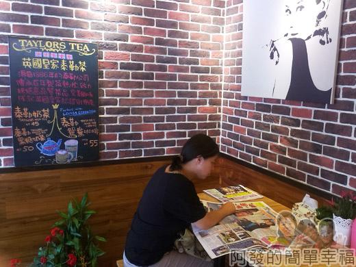 板橋-路易莎咖啡06店內角落