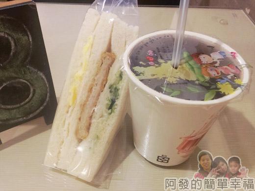 板橋-找餐屋27三明治和飲料