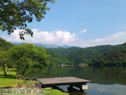 宜蘭礁溪-龍潭湖03入口處湖景