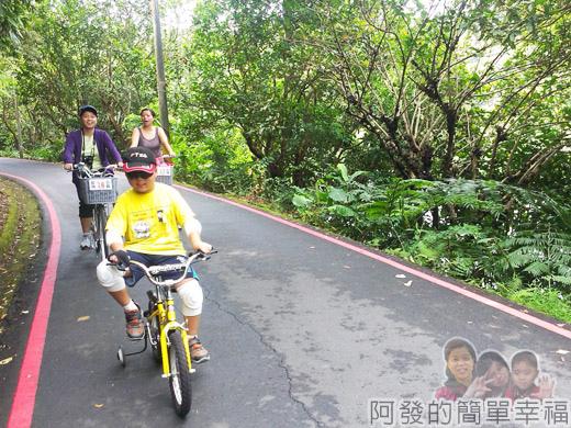 宜蘭礁溪-龍潭湖26環湖車道騎車