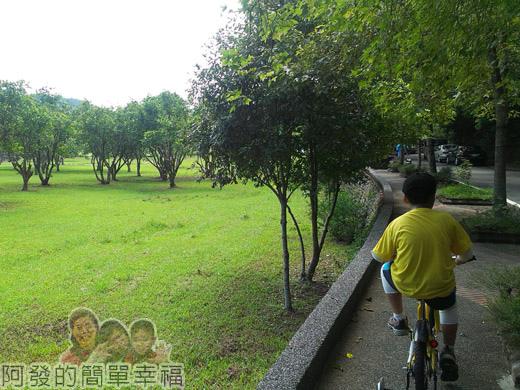 宜蘭礁溪-龍潭湖35終點前的綠地