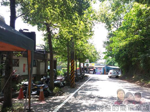 宜蘭礁溪-龍潭湖37回到入口處的腳踏車出租店