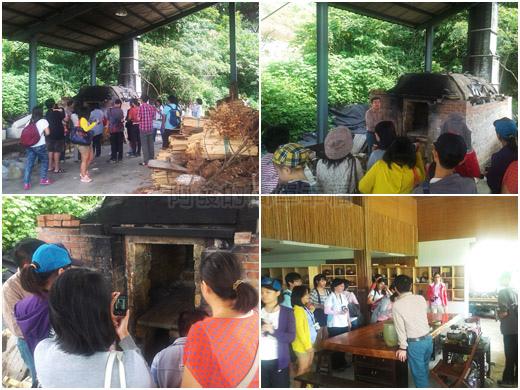 八連溪有機生態村之旅II29許俊翔陶藝家工作室參觀