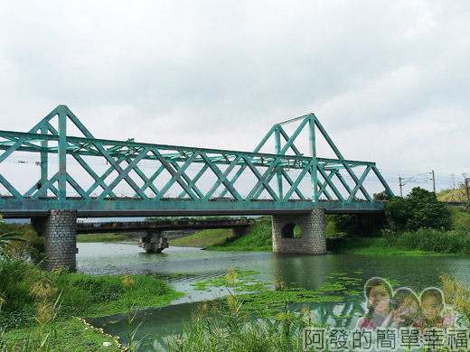 冬山河自行車專用道22火車鐵橋
