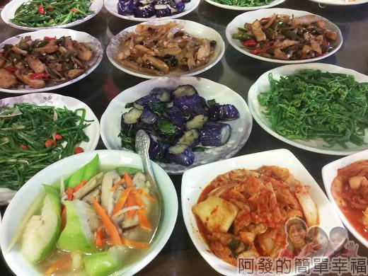 冬山-米食小館07-小菜