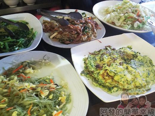 冬山-米食小館08-飯食類配菜