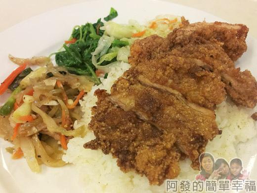 冬山-米食小館17-豬排飯