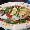 清蒸檸檬魚01