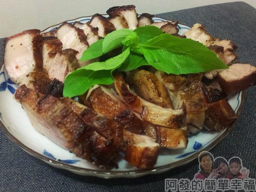 台式叉燒肉07裝盤