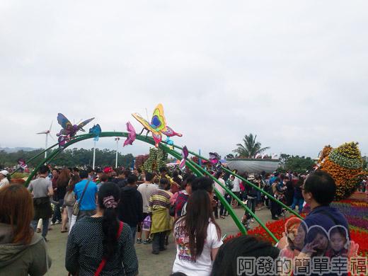 2014台中國際花毯節08-蝴蝶廊道