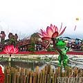 2014台中國際花毯節07-蛙ㄟ後花園