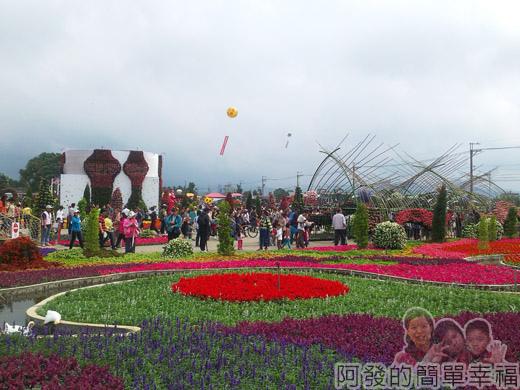 2014台中國際花毯節09-展區一景