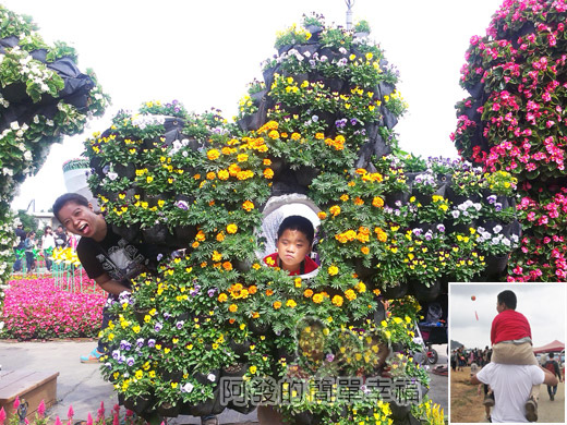 2014台中國際花毯節11-你是我的花朵