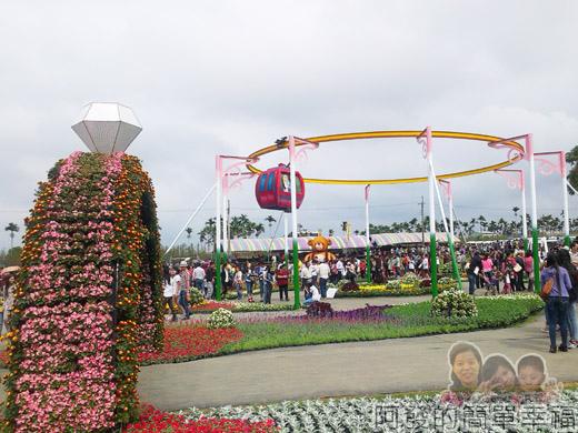 2014台中國際花毯節17-環繞幸福n幸福纜車