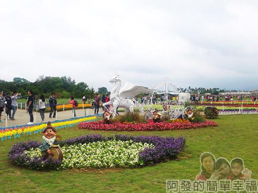 2014新社花海17-精緻草花區-彩色拼盤-22號區