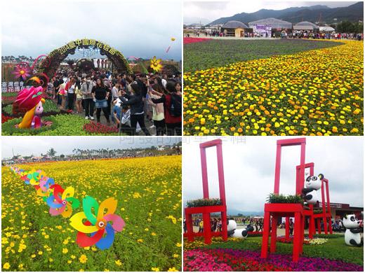 2014新社花海n台中國際花毯節