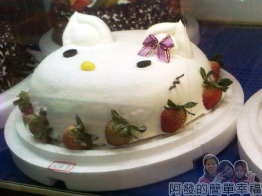 新莊-蜜而可藝術蛋糕08卡通蛋糕櫃