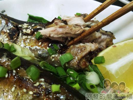 烤味噌秋刀魚09-肉質甘甜