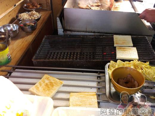 新莊-早鳥吐司06-料理檯