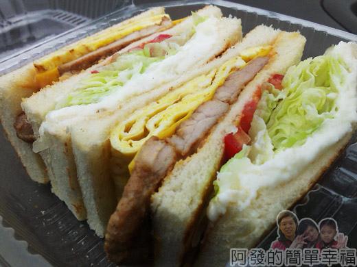 新莊-早鳥吐司08-招牌早鳥三明治
