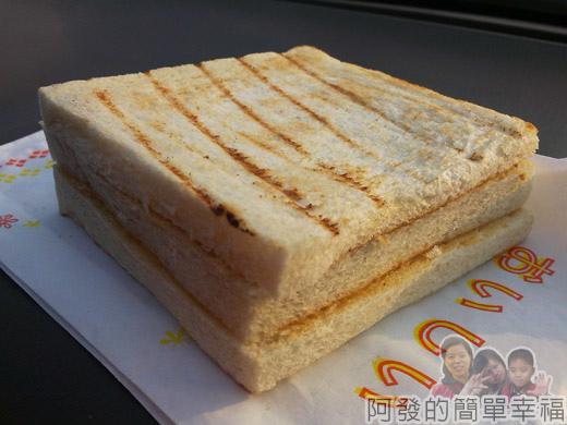 新莊-早鳥吐司15-香濃花生烤吐司