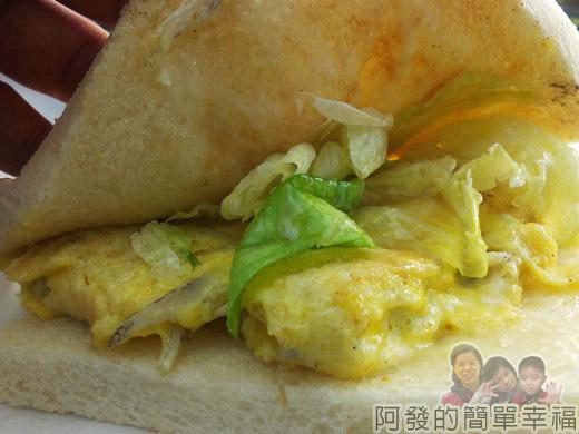 新莊-早鳥吐司17-吻仔魚蛋三明治