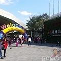 臺北花卉裝置藝術設計大展01-花博公園玉門街入口處