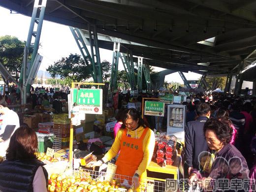 臺北花卉裝置藝術設計大展03-台北花博農民市集1