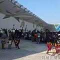 臺北花卉裝置藝術設計大展07-爭豔館入口旁戶外裝置藝術