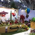臺北花卉裝置藝術設計大展12-出發!跟著花去旅行