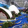 臺北花卉裝置藝術設計大展23-珍奇大陸-漂流木概念