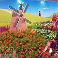 臺北花卉裝置藝術設計大展39-花漾荷蘭-萬紫千紅中的花精靈