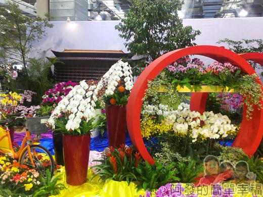 臺北花卉裝置藝術設計大展55-臺灣之美-炫麗台北-場景