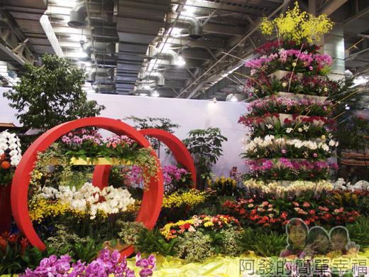臺北花卉裝置藝術設計大展57-臺灣之美-炫麗台北-101大樓