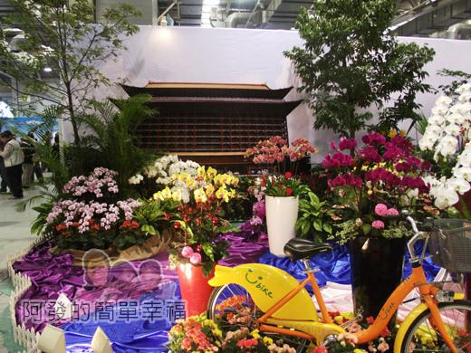 臺北花卉裝置藝術設計大展56-臺灣之美-炫麗台北-圓山飯店與Ubike