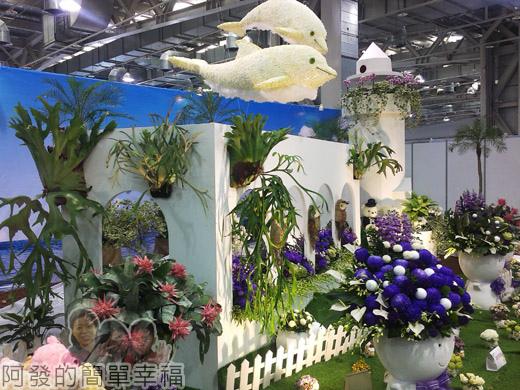 臺北花卉裝置藝術設計大展61-臺灣之美-東亞之光-南台灣的熱情陽光灑脫