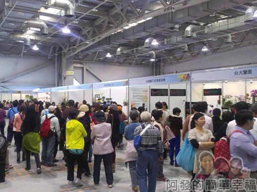 臺北花卉裝置藝術設計大展66-花卉園藝產品展售區