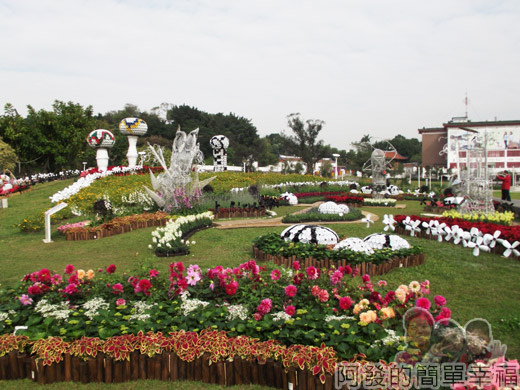 2014臺北花卉展18-圓山園區5區-聖誕摩登1