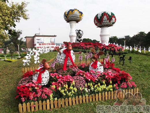 2014臺北花卉展19-圓山園區5區-聖誕摩登2-魔奇樹