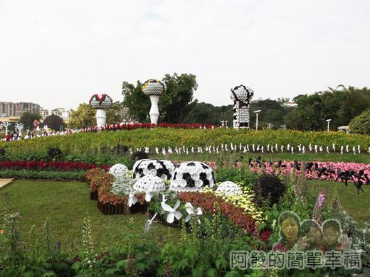 2014臺北花卉展22-圓山園區5區-聖誕摩登5
