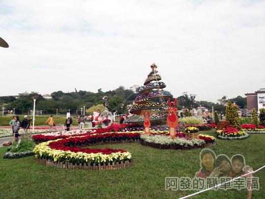 2014臺北花卉展33-圓山園區6區-翻滾吧彩虹耶誕3