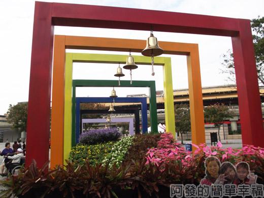 2014臺北花卉展05-圓山園區1區-聖誕夢想之橋2