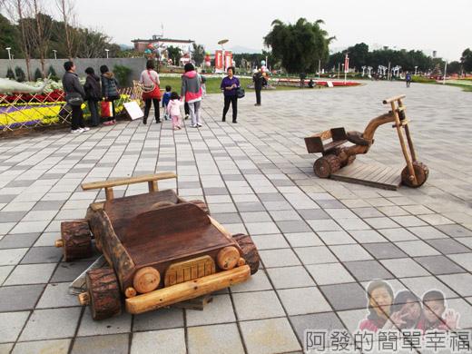 2014臺北花卉展07-圓山園區2區-穿越侏儸紀2