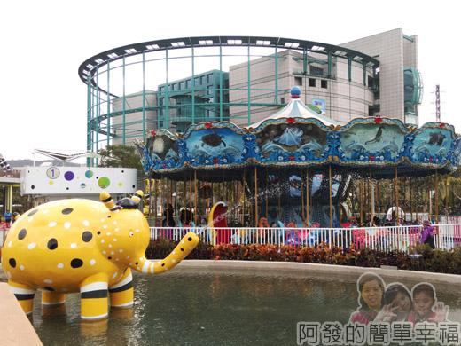 兒童新樂園27-夢想海與火山V-噴水大象.jpg
