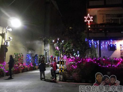 吉慶里聖誕巷03-71巷9弄口